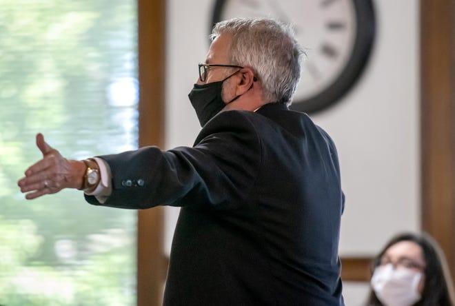 Attorney Michael Brandt. (Matt Dayhoff-Journal Star)