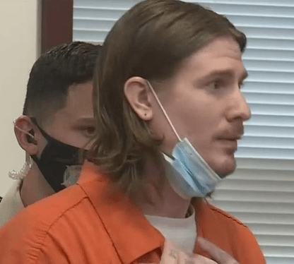 Zachary Littell at plea hearing