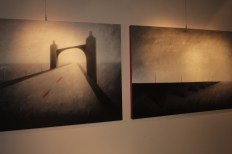 Invisible Bridges 1 & 2 Sabiana Paoli Art Gallery