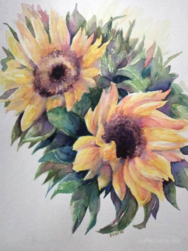 2016 03 sunflower for a friend