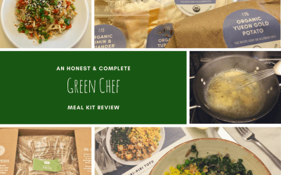 An honest and complete review of the Green Chef meal kit