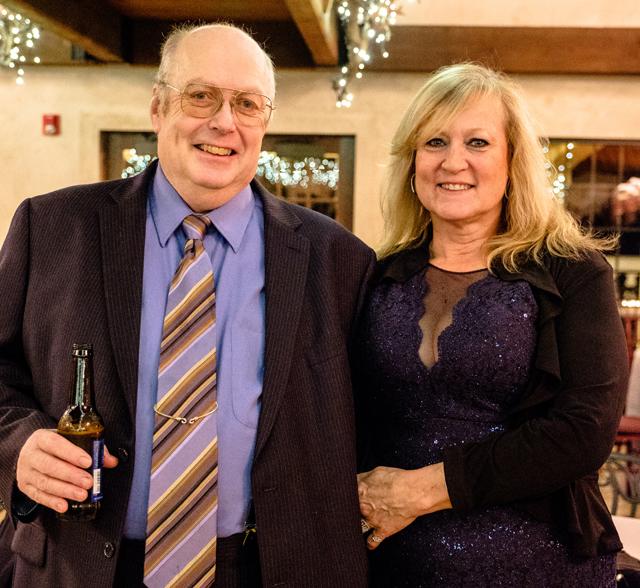 David Lafreniere and Kim Viola.