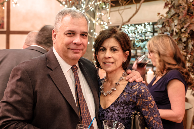 Perry and Melina Angelson.