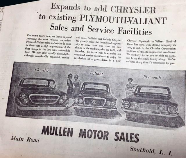 Mullen Motors — February 23, 1961