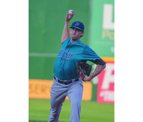 Bridgeport pitcher David Kubiak 090916