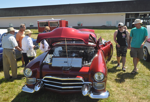 The Cutchogue Lions Club held its 44th Annual Car Show at Pindar Vineyards in Peconic Sunday.