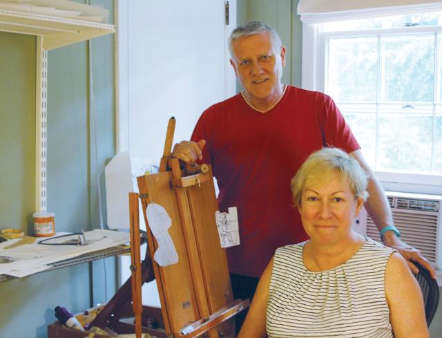 Cynthia and Geoffrey Wells