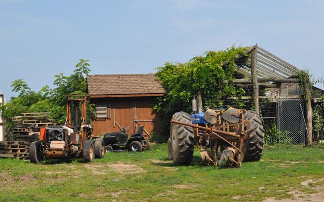 Douglas Cooper Farms on Breakwater Road in Mattituck. (Credit: Grant Parpan)