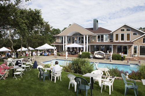 Last year's Eastern Long Island Hospital fundraising gala was hosted in Cutchogue. It'll be in Orient this year. (Credit: Katharine Schroeder, file)