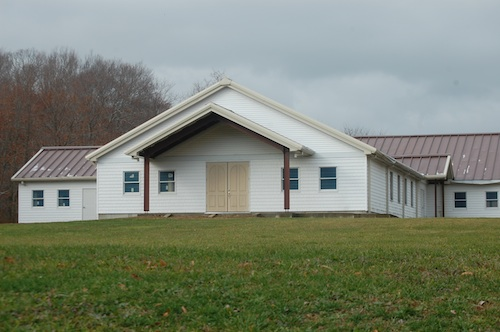 First Baptist Church of Cutchogue hopes to finish work on its new building in 2015. (Credit: Cyndi Murray)