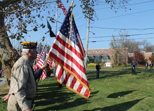 Flag Riverhead Veterans