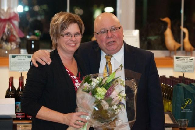 Joe and his wife Donna. (Credit: Katharine Schroeder)