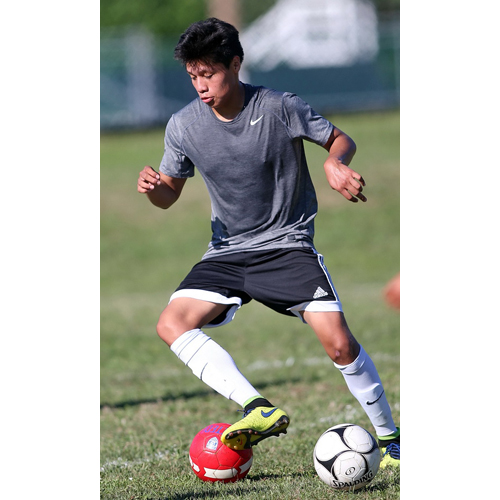 Greenport soccer player Eduardo Sanchez 082316