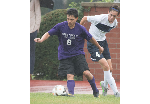 Greenport soccer player Mateo Arias 090616