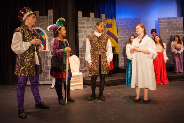 "The Greenport High School Drama Club presents the musical comedy ""Once Upon a Mattress."" (Credit: Katharine Schroeder)"