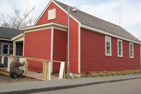The Little Red Schoolhouse is now the site of many community based events. (Jennifer Gustavson file photo)