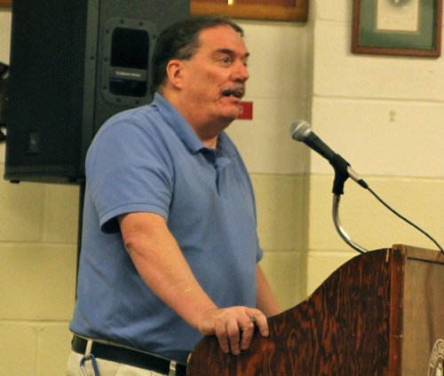 Greenport Village utilities director Jack Naylor to give an electric power update tonight