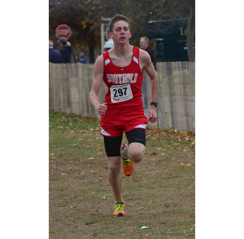 Southold sophomore Owen Klipstein won the Class D race Friday. (Credit: Robert O'Rourk)