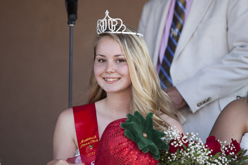 KATHARINE SCHROEDER | This year's Mattituck Strawberry Queen is Leah La Freniere of Southold High School.