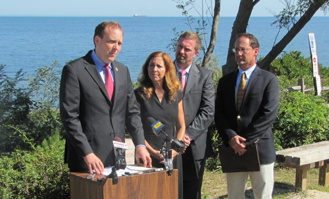 Long Island Sound press conference