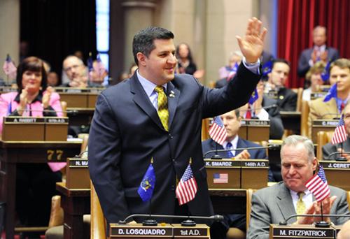 COURTESY PHOTO | Assemblyman Dan Losquadro in November 2011.