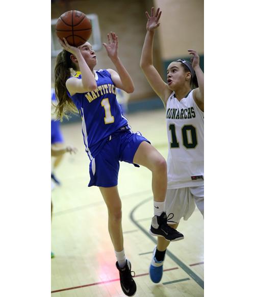 Mattituck basketball player Mackenzie Daly 011316