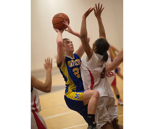 GARRET MEADE FILE PHOTO | Shannon Dwyer was an All-League player for Mattituck last season, averaging about 14 points a game.