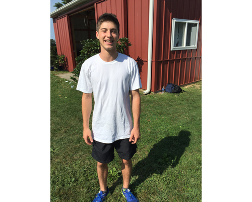 Mattituck cross-country runner Dan Harkin 091316
