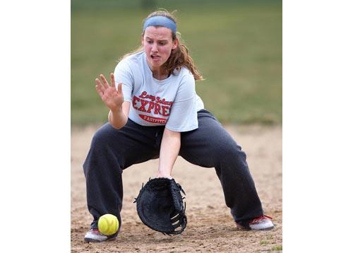 Mattituck softball player Ashley Perkins 031516