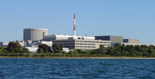 The Millstone Power Station in Waterford, Conn. (Credit: Courtesy photo)