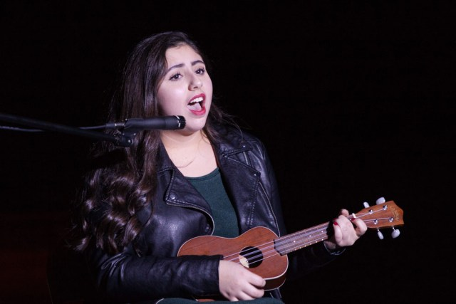 """Alexa Palumbo performs """"Can't Blame a Girl for Trying."""""""