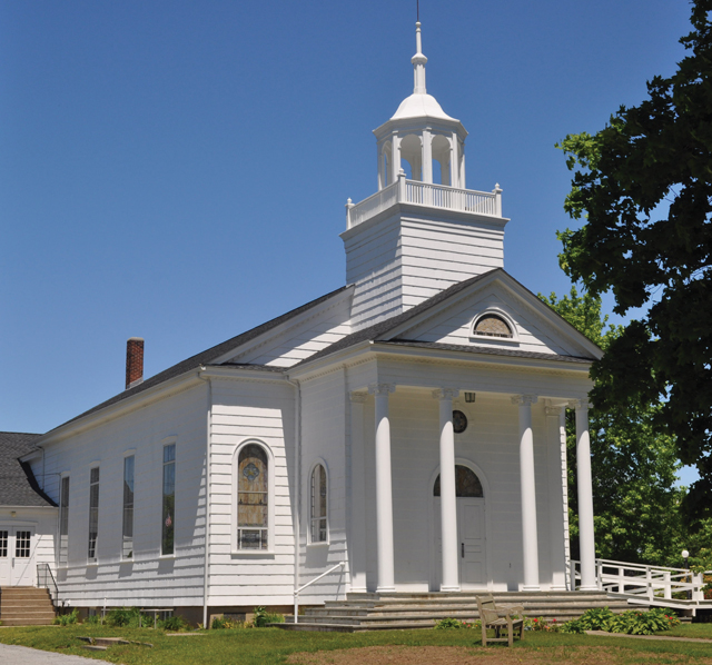 The town wants to create new zoning to protect churches and other historic properties. (Credit: Cyndi Murray)