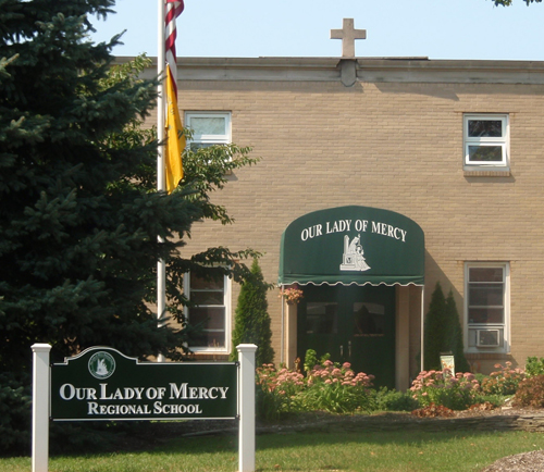 Our Lady of Mercy Regional School in Cutchogue. (Credit: Courtesy, file)