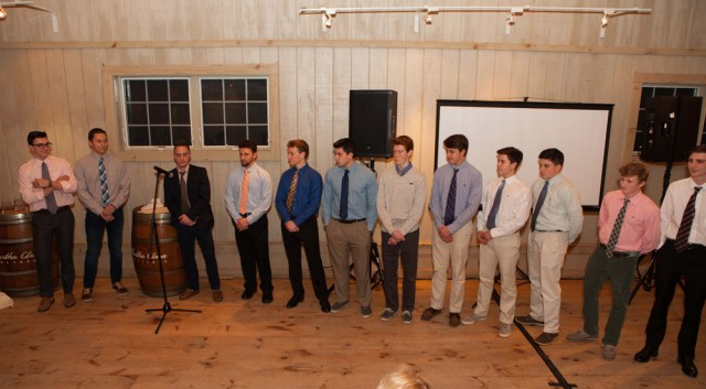 The 2015 NYS champion Mattituck baseball team, The Suffolk Times sports people of the year. (Credit: Katharine Schroeder)