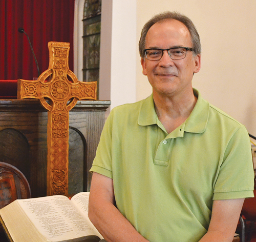 The Rev. Pat Smith started work as interim pastor of Mattituck Presbyterian Church in December. (Courtesy photo)