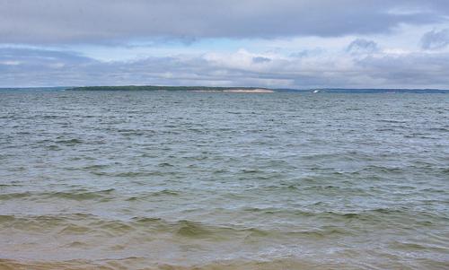 BARBARAELLEN KOCH FILE PHOTO | A view of Peconic Bay from Mattituck Beach.