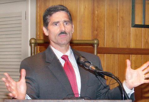 BARBARAELLEN KOCH FILE PHOTO | Suffolk County Executive Steve Levy announced Thursday that he will not seek a third term in office.