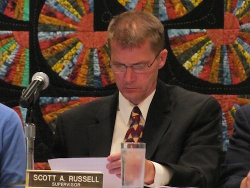Southold Supervisor Scott Russell. (Credit: Cyndi Murray)