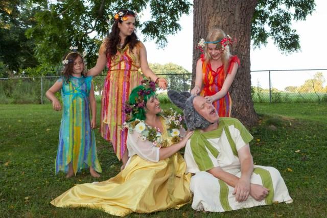 Northeast Stage rehearses William Shakespeare's 'A Midsummer Night's Dream.' (Credit: Katharine Schroeder)