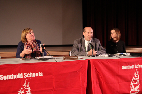 The Southold school board is scheduled to adopt a budget next Wednesday. (Credit: Jen Nuzzo)