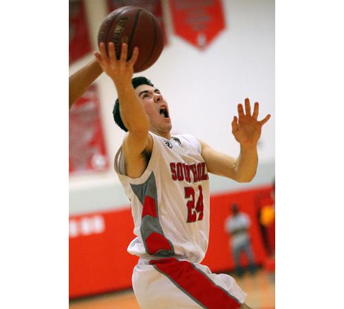 Southold basketball player Pat McFarland 011317