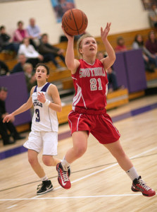 GARRET MEADE FILE PHOTO | Justina Babcock is one of four returning senior starters for Southold/Greenport.