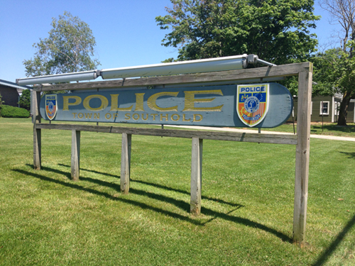 SoutholdPD Sign