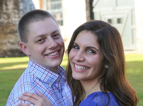 Tyler Mehrman and Alison Leonard
