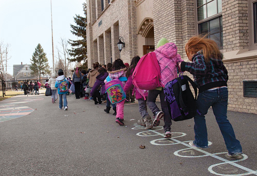 Residents will head to the polls Tuesday to vote on their local school budgets. (Credit: Katharine Schroeder, file)