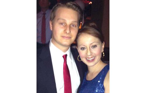 Alexander Belich and Bridget Wallace.