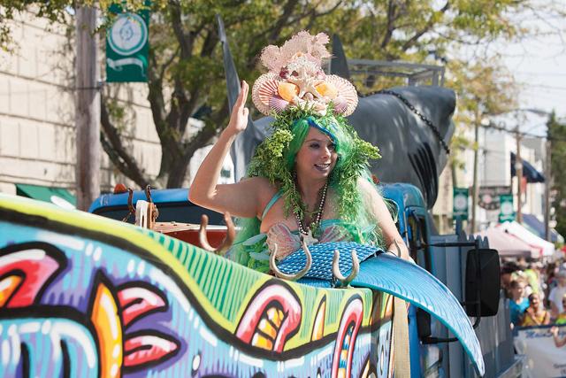 Merry Merfolk Parade