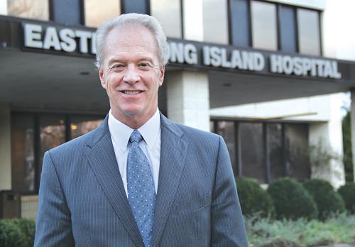 CARRIE MILLER PHOTOEastern Long Island Hospital CEO Paul Connor.