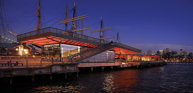 Since the completion of Mitchell Park, SHoP Architects has gone on to design numerous other projects, including Pier 15 in New York City. (Credit: Courtesy photo)