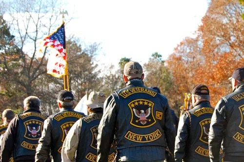 JOSEPH PINCIARO PHOTO | The US Veterans Motorcycle Club of Long Island.